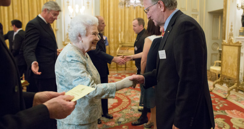 Queen honours NREA's Vice President for three decades of life saving